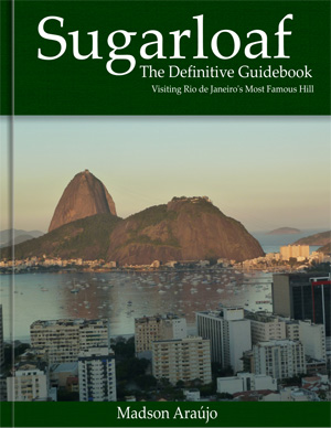 travel guide book visit sugar loaf janeiro brazil