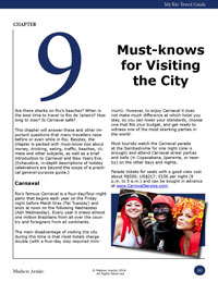 Chapter 9 My Rio Travel Guide must-know visiting Rio de Janeiro Brazil