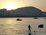 Stand up paddle boarding Rio de Janeiro Brazil